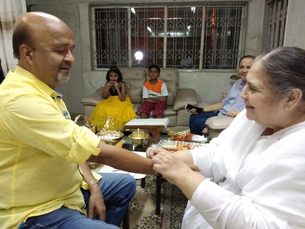 Mumbai Vile Parle W- Raksha Bandhan festival with dignitaries from different field